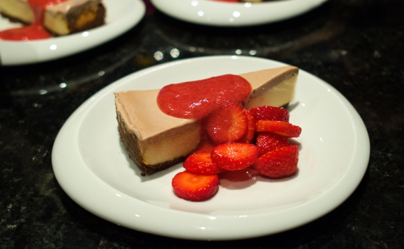 tiramisu kissed cheesecake