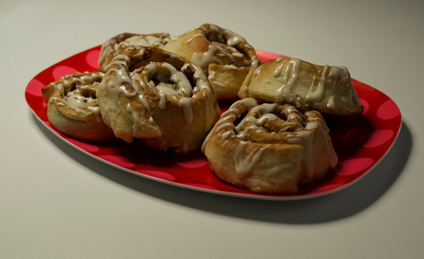 apple – cinnamon – ginger rolls