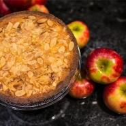 Apple cake shortcrust_quadrat gross